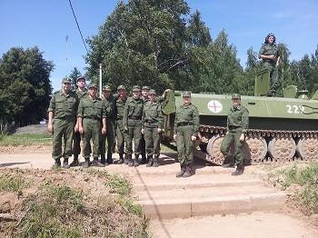 Будущие офицеры военно-медицинской службы прошли стажировку