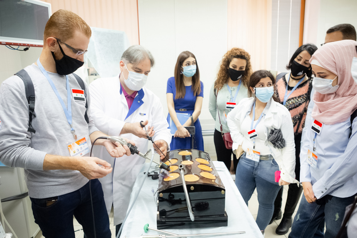Достижения Сеченовского Университета презентовали молодым врачам из Сирии