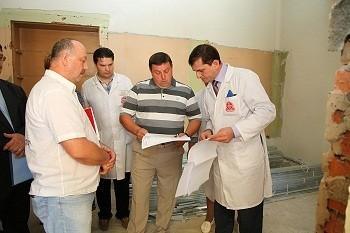 Ремонт клиник и новая логика развития