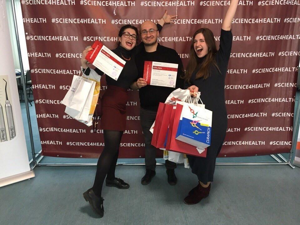 Студенты Сеченовского университета — призеры #SCIENCE4HEALTH2018