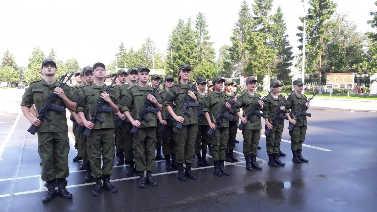 Студенты УВЦ приняли Военную присягу