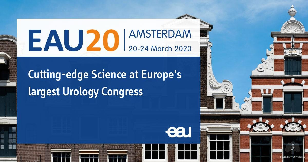 EAU award marks high quality urology research at Sechenov
