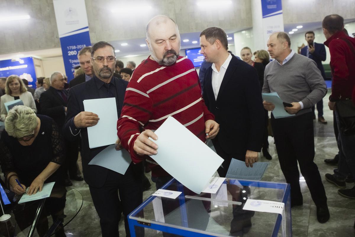 Выборы ректора – 2020: Петр Глыбочко избран на новый срок