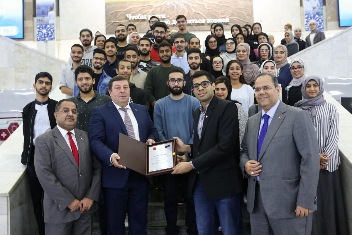 Визит посла Бахрейна в Сеченовский университет
