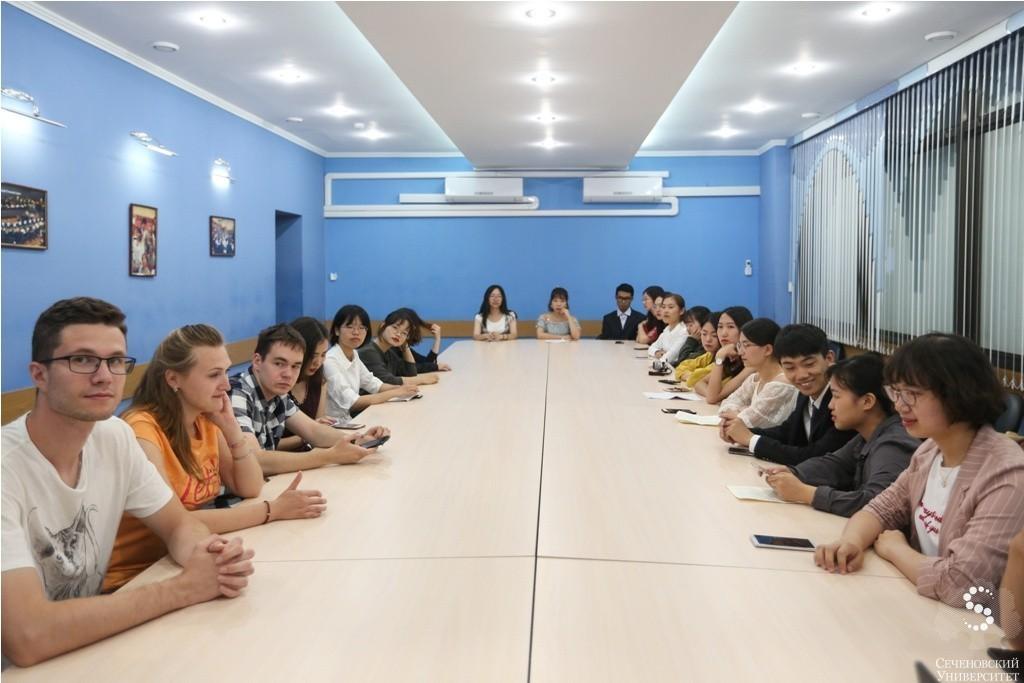 Students of foreign partner universities have undertaken summer internship at Sechenov University