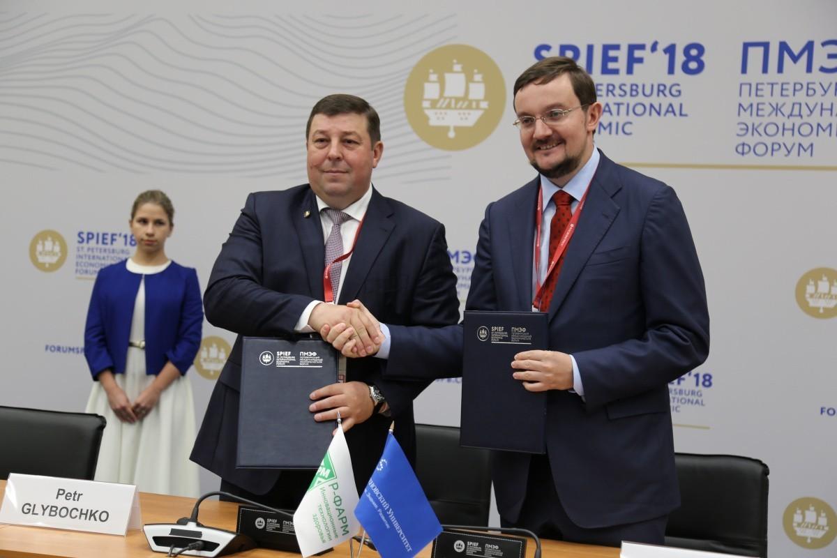 Сеченовский университет и «Р-Фарм» подписали соглашение о сотрудничестве