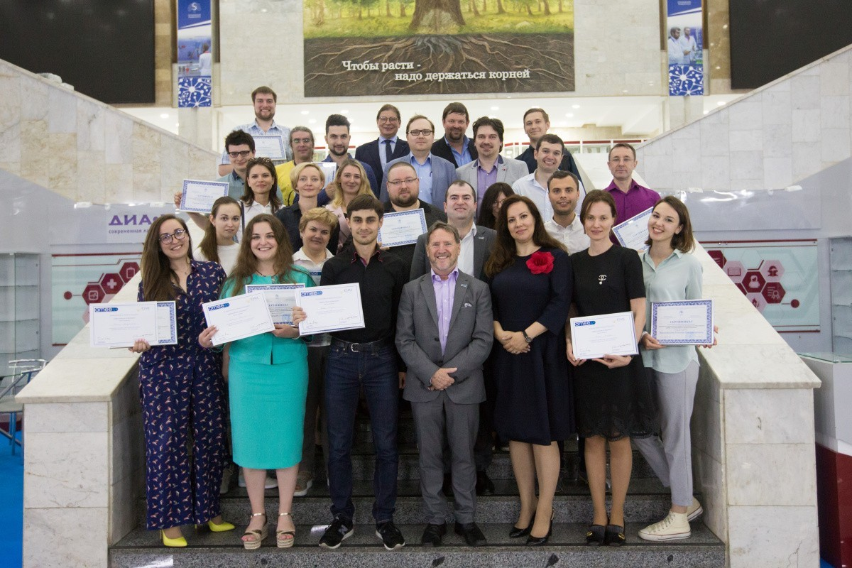 Торжественное вручение сертификатов от АМЕЕ