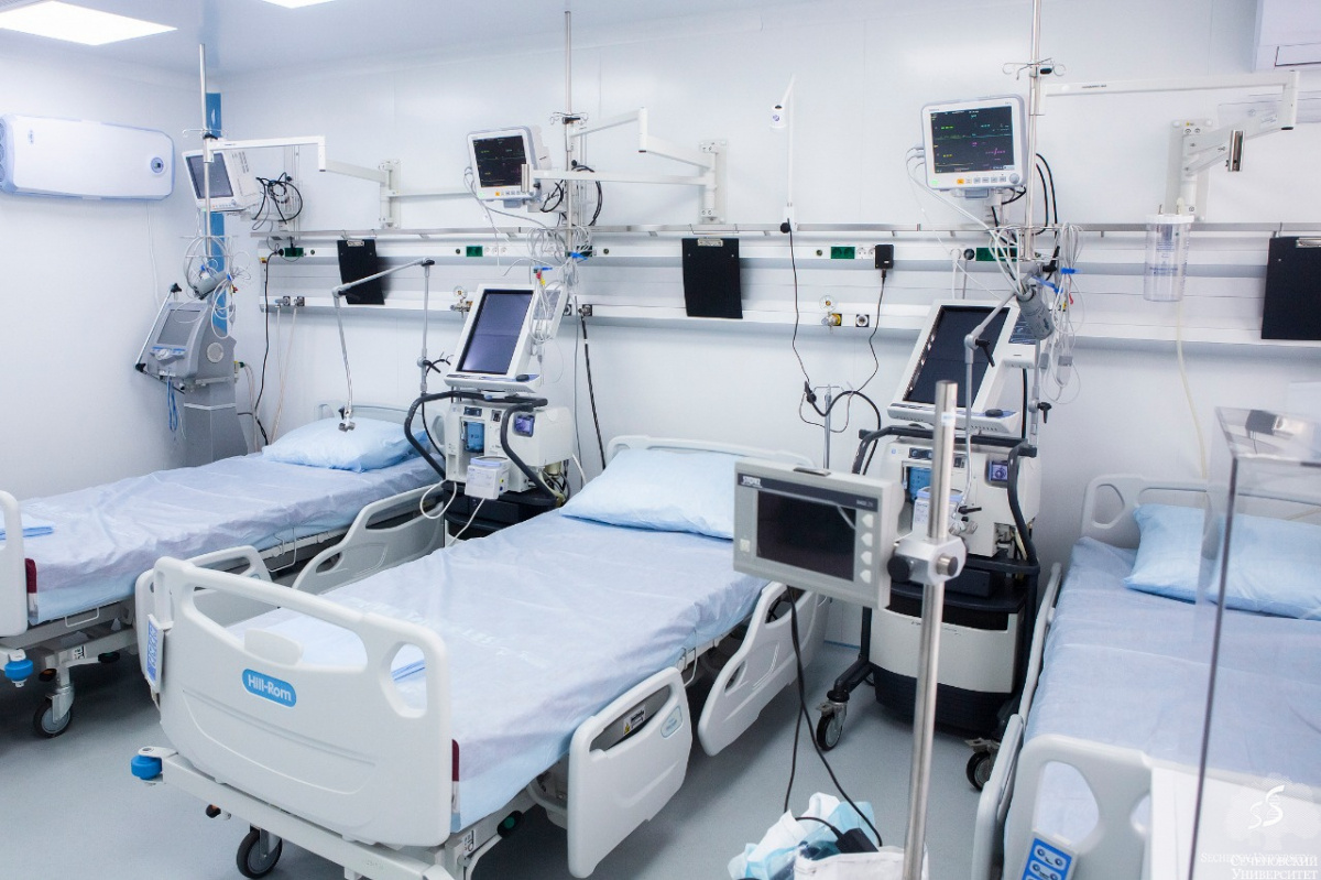 Sechenov Clinical Centre to provide 2000 beds for COVID-19 patients