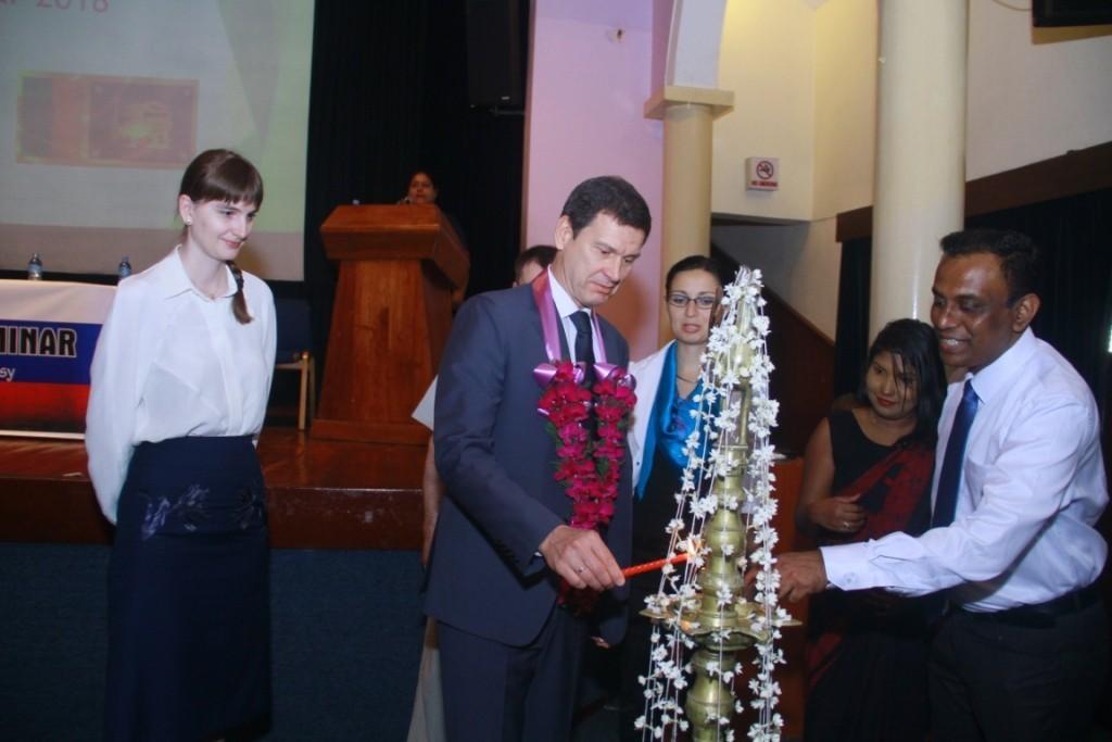 Семинар для абитуриентов в Шри-Ланке
