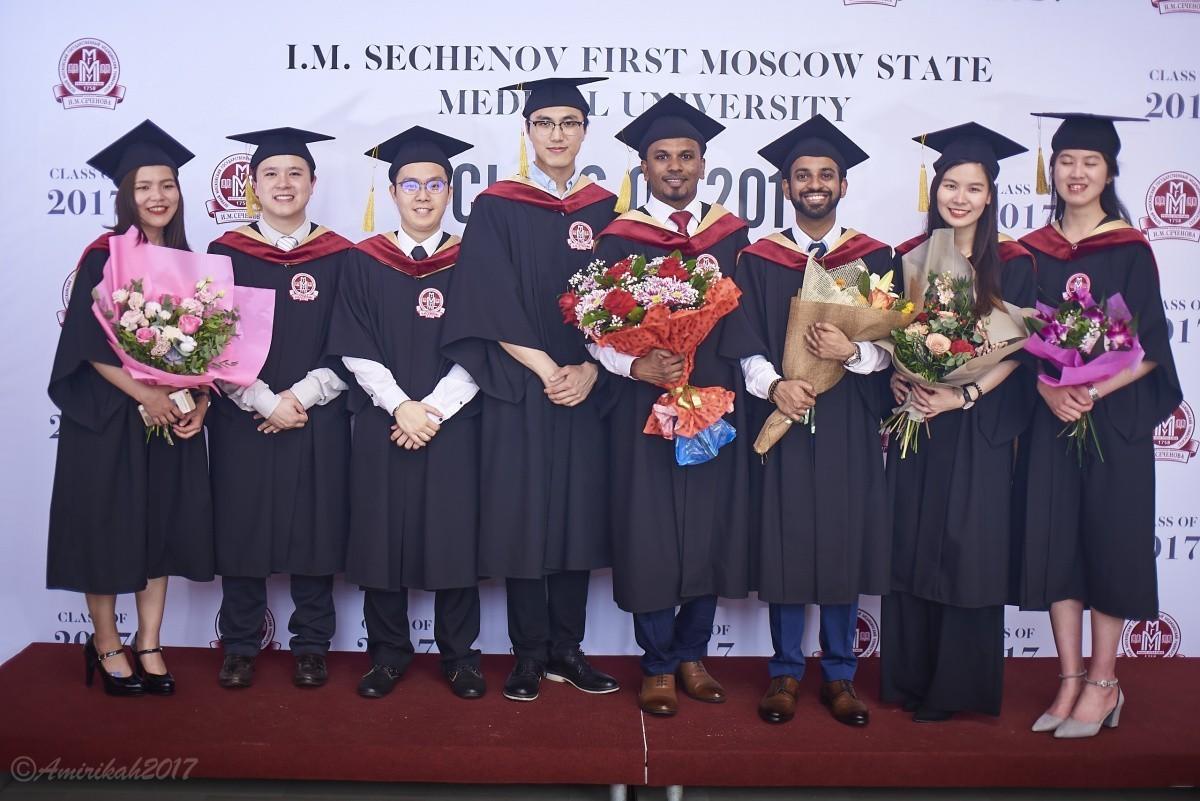 Самый большой выпуск иностранных обучающихся Сеченовского университета
