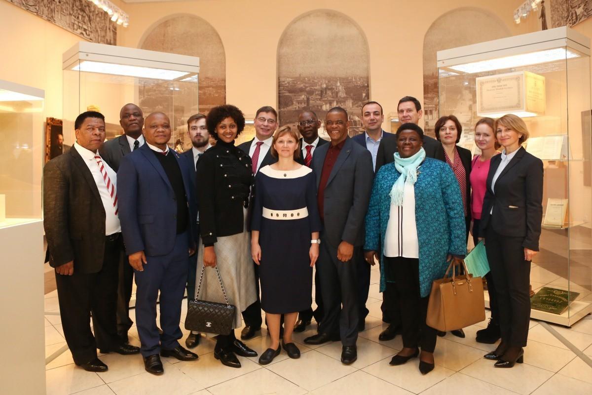 Университет посетили представители ЮАР