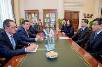 На встрече с китайской делегацией Петр Глыбочко предложил сразу несколько новых этапов сотрудничества