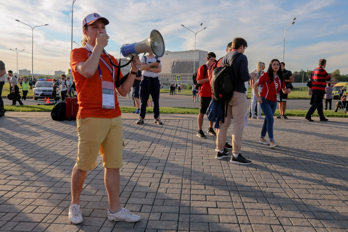 Волонтеры Сеченовского Университета на Кубке Конфедераций