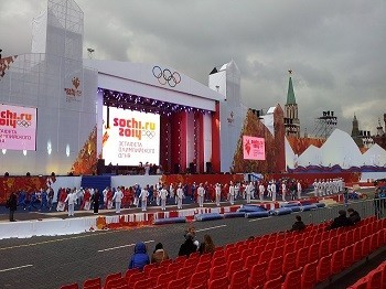 Студенты Первого Меда участвовали в московском этапе эстафеты олимпийского огня