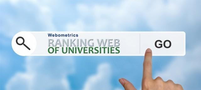 Рейтинг Webometrics Ranking of World Universities – университет улучшает позиции