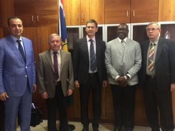 Укрепление сотрудничества Сеченовского университета с Республикой Намибия