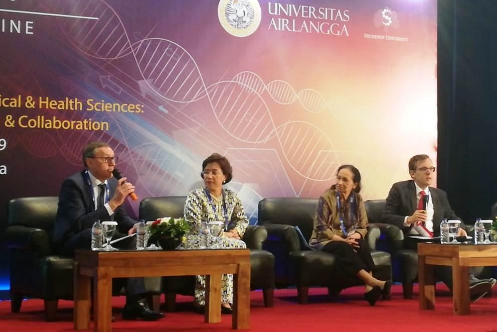 Первый проректор Сеченовского университета Андрей Свистунов выступил на саммите QS в Индонезии
