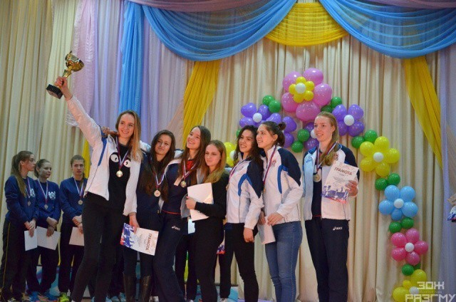 Волевая победа волейболисток Сеченовского университета