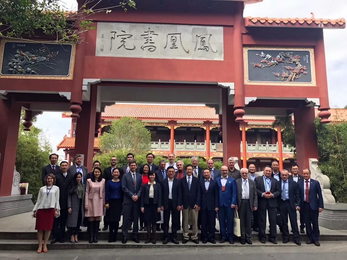 Расширение научной кооперации и академических обменов с Китаем