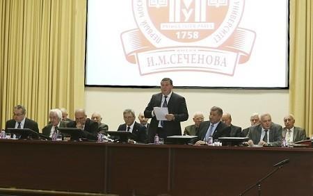 Ученый совет заслушал отчеты и концепцию подготовки специалистов управления здравоохранением