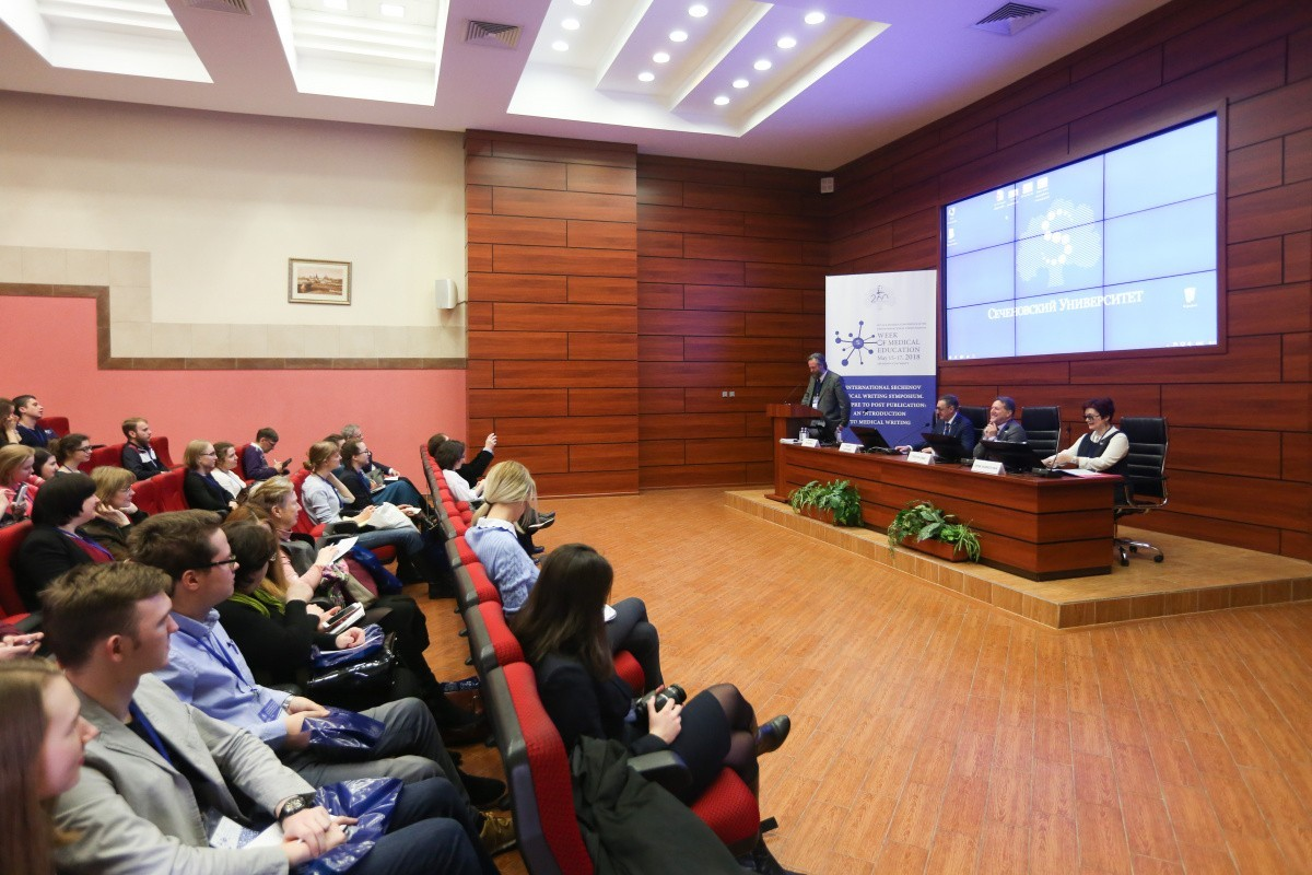 1st International Sechenov Medical Writing Symposium took place at Sechenov University