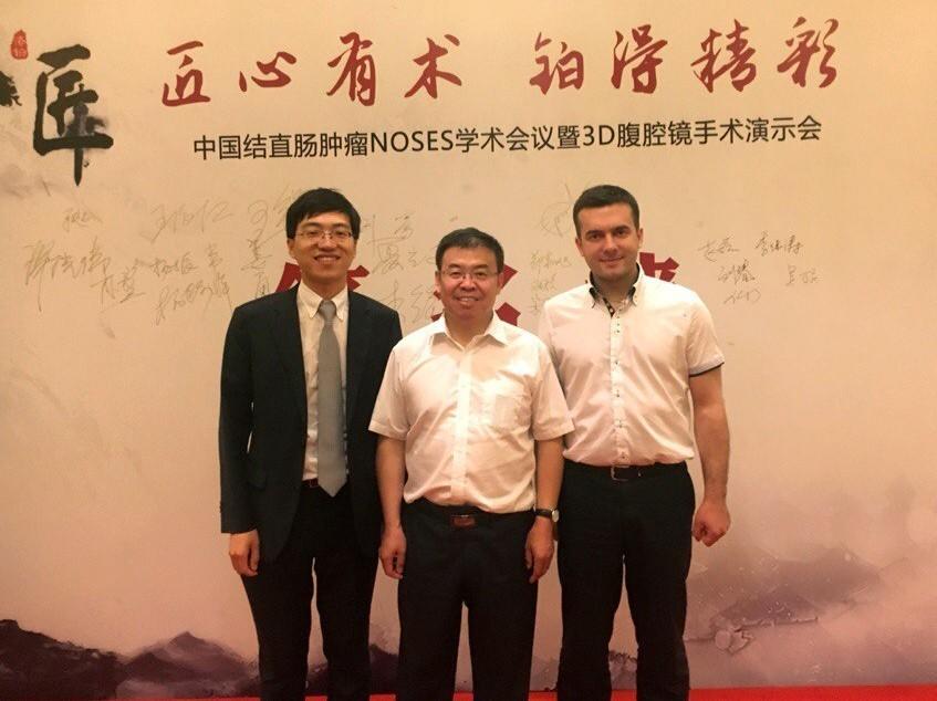 Китайским хирургам представлен передовой опыт Сеченовского Университета