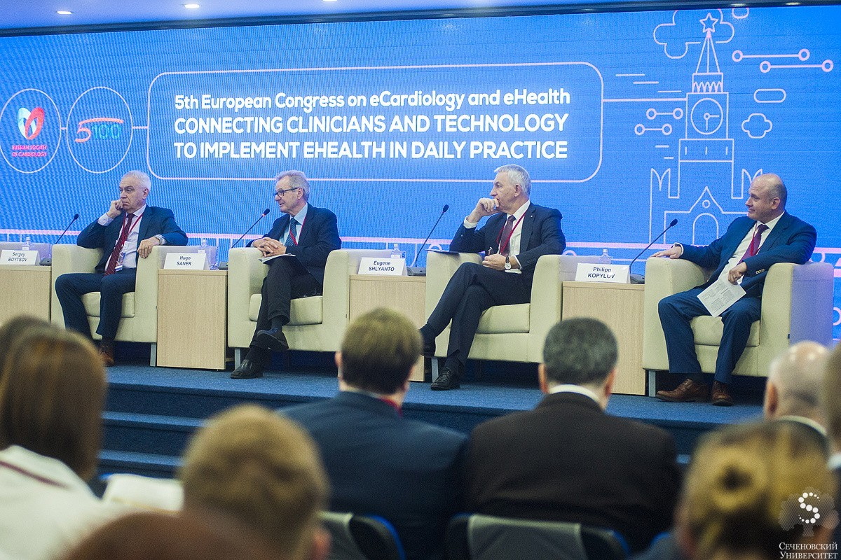 Sechenov University has successfully hosted the 5th European Congress on eCardiology & eHealth- 2018