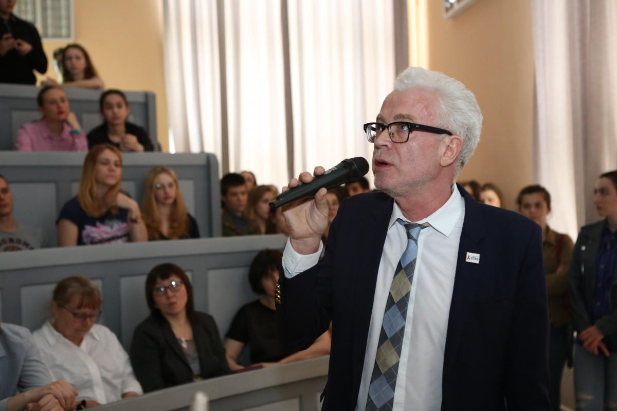 Опыт Германии по проблеме ВИЧ обсудили в Сеченовском университете