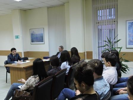 Встреча студентов с сотрудниками Посольства Узбекистана в Москве