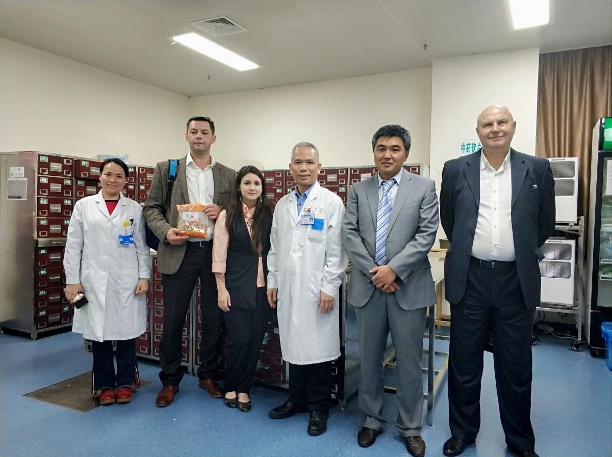 Сотрудничество с Китаем в области традиционной китайской медицины продолжается