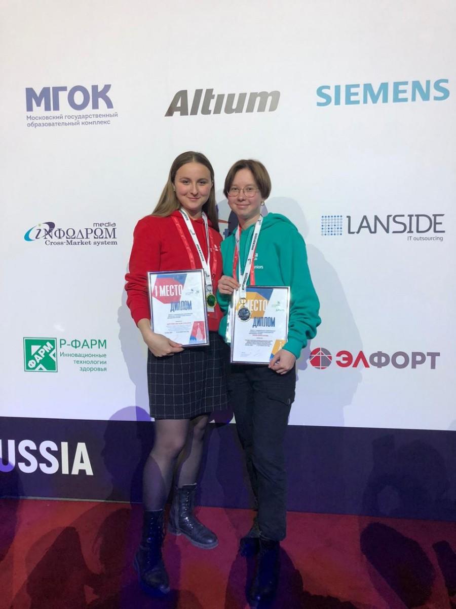 Студентка Сеченовского Университета победила в Worldskills Russia