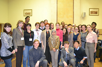 Готовимся к международному сотрудничеству:  мастер-класс научного кружка кафедры иностранных языков!
