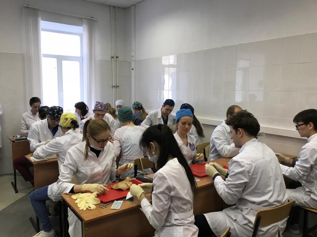 Команда «Место пункции изменить нельзя» завоевала первое место на Олимпиаде по ЛОР-болезням