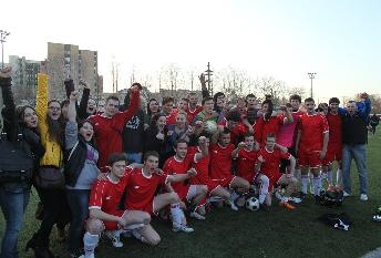 Кубок Москвы по футболу: первая победа!
