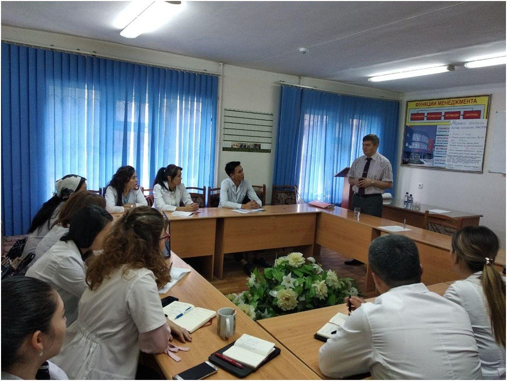 Международный курс «Стратегия лидерства в здравоохранении»