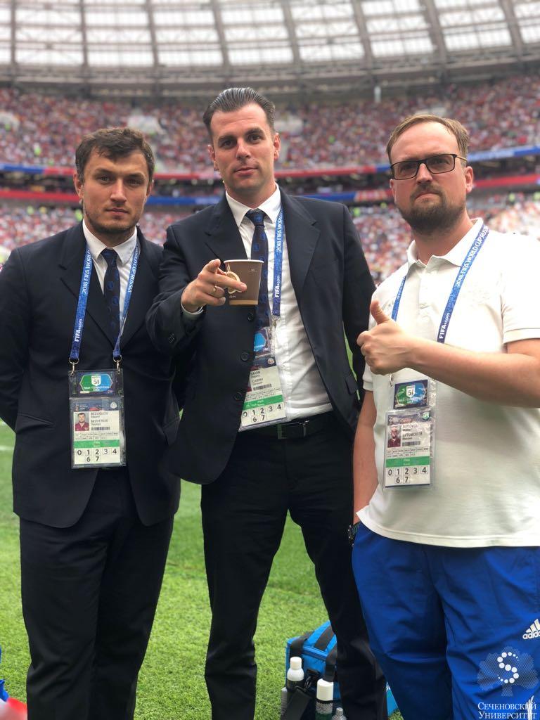 Sechenov Sports Medicine Team was awarded