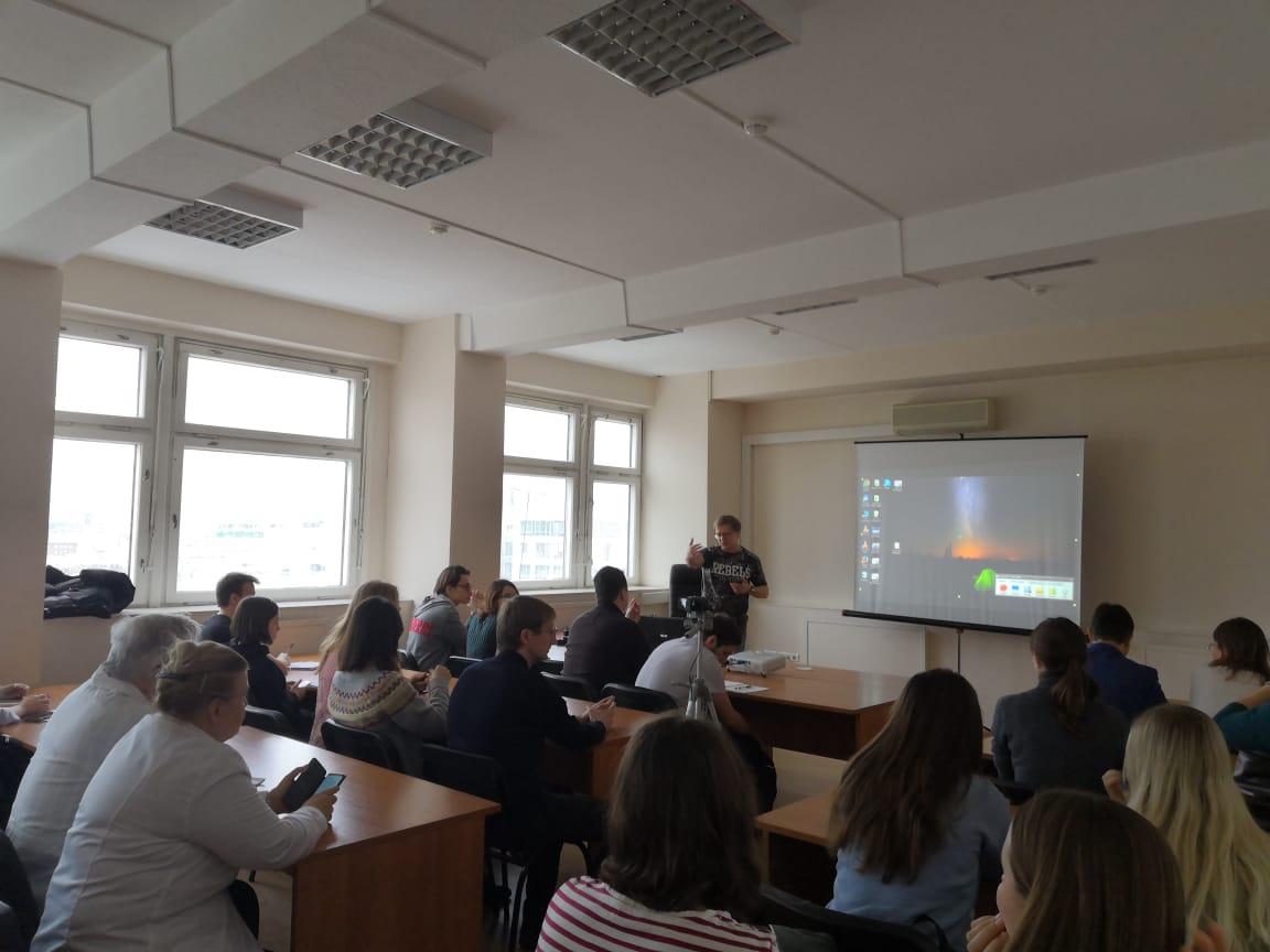 Лекция о современной биомедицине прошла в Сеченовском университете