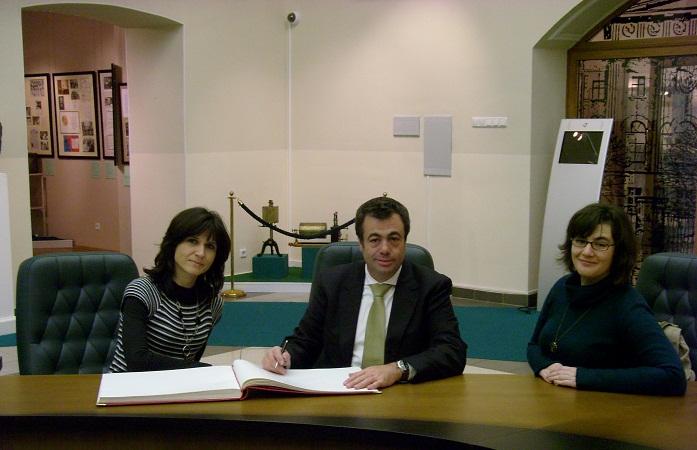 Состоялась встреча студентов отделения клинической психологии со специалистом из Португалии - QUINTINO-AIRES, J.