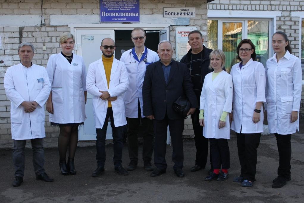 Медицинская помощь малой родине Сеченова