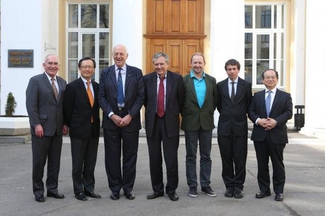 Международный экспертный совет одобрил концепцию развития университета и создание новой лаборатории