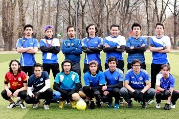 Малазийская команда по футболу – победа на стадионе «Буревестник»!