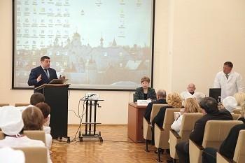 Новые условия работы и «точки развития» УФКБ обсудили на медсовете