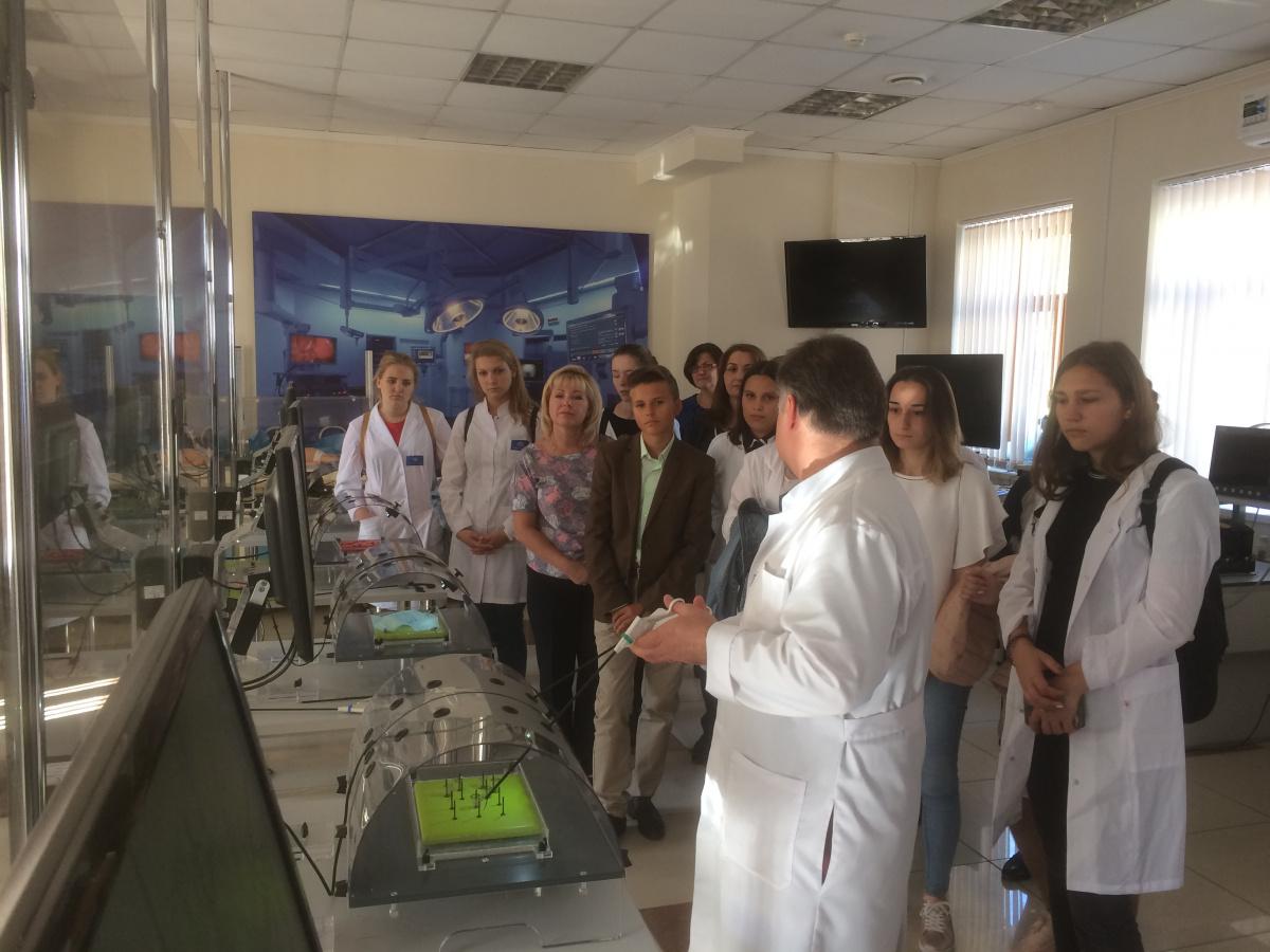Экскурсия по Сеченовскому университету