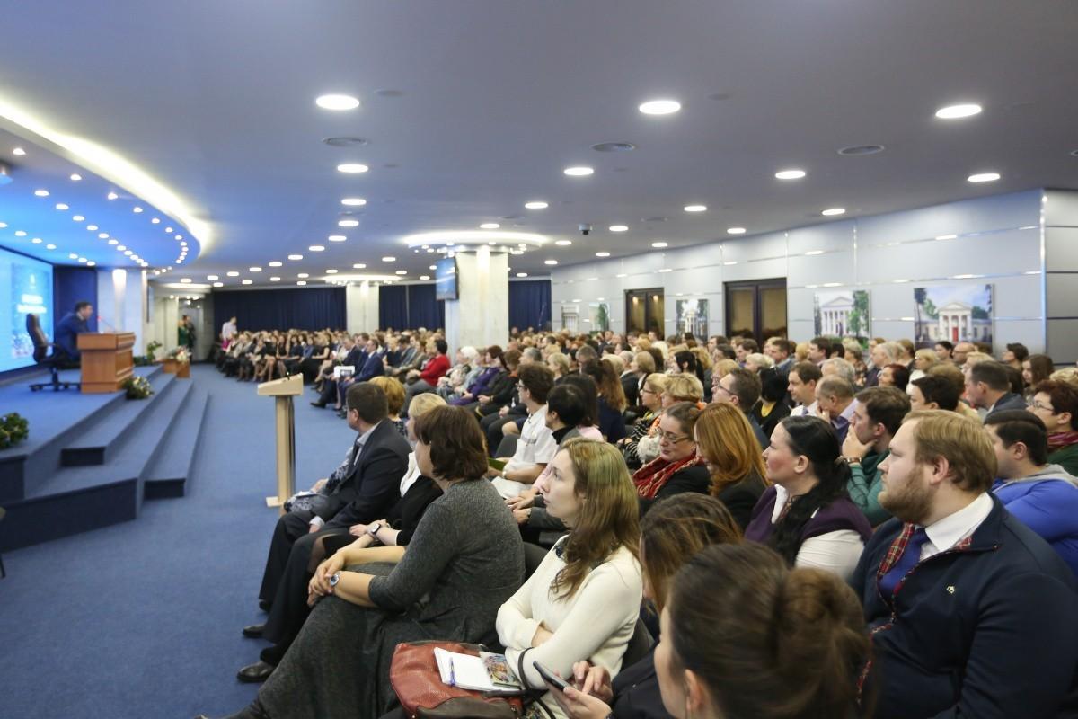 Добрая традиция: встреча ректора с сотрудниками