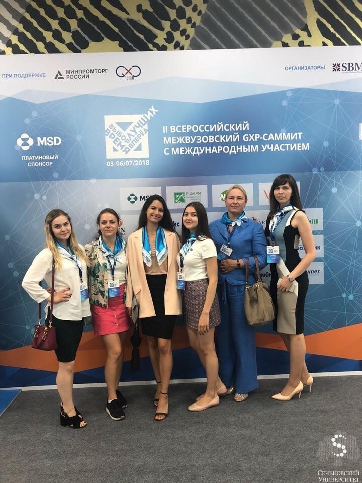 Sechenov University student became the winner of the international GxP-summit in Sochi