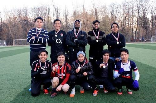 Команда Первого МГМУ имени И.М. Сеченова победила в турнире по футболу малайзийских студентов московских вузов