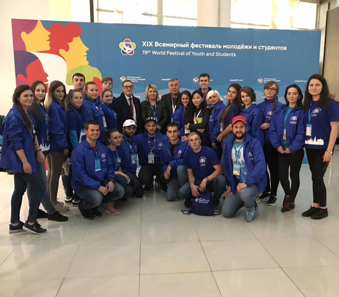 Студенты и сотрудники Сеченовского университета на  XIX Всемирном фестивале молодежи и студентов