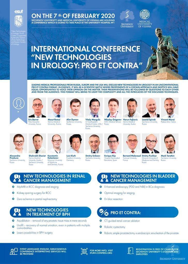Sechenov University to host a major urology conference