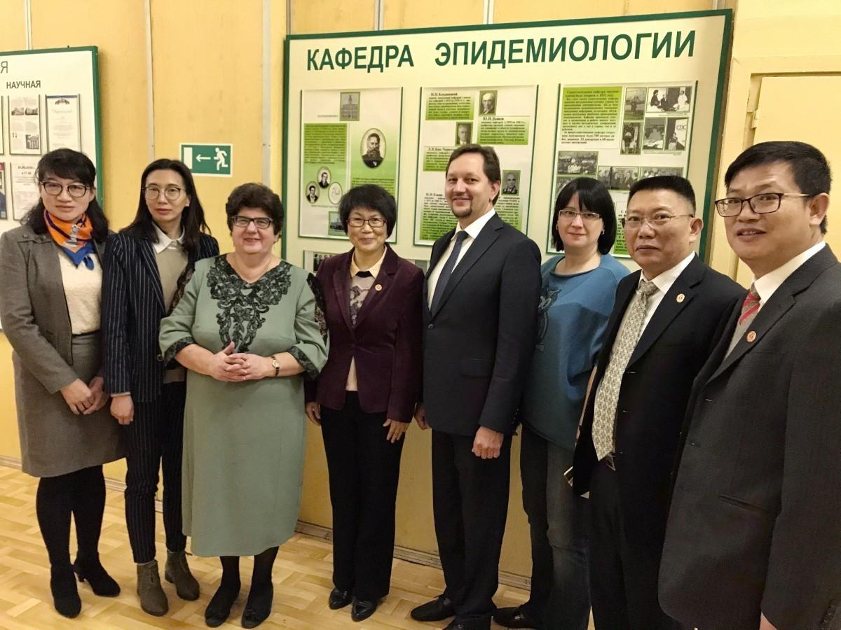 Сеченовский Университет посетила делегация Куньминского медицинского университета