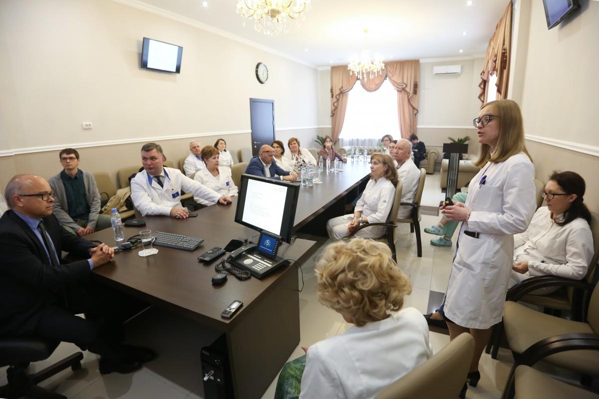 Международный клинический консилиум прошел в УКБ № 4